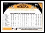 2009 Topps Update #247  Lastings Milledge  Back Thumbnail