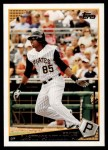 2009 Topps Update #247  Lastings Milledge  Front Thumbnail