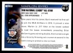 2010 Topps Update #17  Marlon Byrd  Back Thumbnail