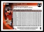 2010 Topps Update #48  Geoff Blum  Back Thumbnail