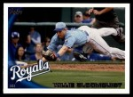 2010 Topps Update #111  Willie Bloomquist  Front Thumbnail