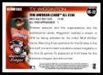 2010 Topps Update #22  Ty Wigginton  Back Thumbnail