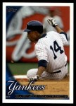 2010 Topps Update #110  Curtis Granderson  Front Thumbnail