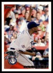 2010 Topps Update #45  David Price  Front Thumbnail