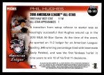 2010 Topps Update #141  Phil Hughes  Back Thumbnail
