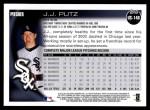 2010 Topps Update #148  J.J. Putz  Back Thumbnail