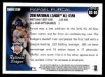 2010 Topps Update #90  Rafael Furcal  Back Thumbnail