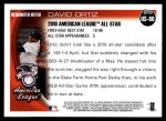 2010 Topps Update #80  David Ortiz  Back Thumbnail