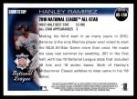 2010 Topps Update #150  Hanley Ramirez  Back Thumbnail