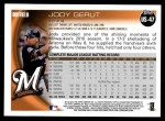 2010 Topps Update #47  Jody Gerut  Back Thumbnail