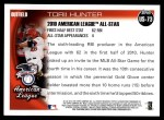 2010 Topps Update #73  Torii Hunter  Back Thumbnail