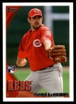 2010 Topps Update #7  Sam LeCure   Front Thumbnail
