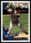 2010 Topps Update #99  Jose Bautista  Front Thumbnail