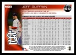 2010 Topps Update #83  Jeff Suppan  Back Thumbnail