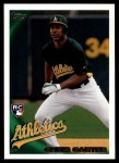 2010 Topps Update #102  Chris Carter  Front Thumbnail