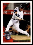2010 Topps Update #127  Nick Swisher  Front Thumbnail