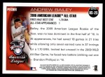 2010 Topps Update #25  Andrew Bailey  Back Thumbnail