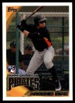 2010 Topps Update #147  Argenis Diaz  Front Thumbnail