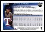2010 Topps Update #139  Jorge Cantu  Back Thumbnail