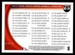 2010 Topps Update #24  Vladimir Guerrero  Back Thumbnail