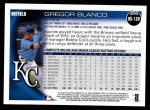 2010 Topps Update #129  Gregor Blanco  Back Thumbnail