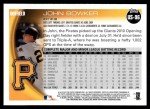 2010 Topps Update #96  John Bowker  Back Thumbnail