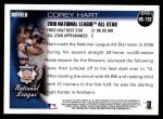 2010 Topps Update #132  Corey Hart  Back Thumbnail
