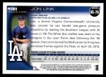 2010 Topps Update #78  Jon Link  Back Thumbnail