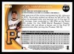 2010 Topps Update #257  Joel Hanrahan  Back Thumbnail