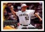 2010 Topps Update #257  Joel Hanrahan  Front Thumbnail