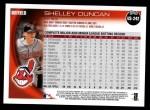 2010 Topps Update #242  Shelley Duncan  Back Thumbnail
