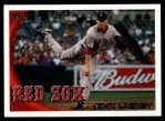 2010 Topps Update #190  John Lackey  Front Thumbnail