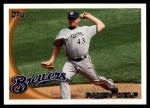 2010 Topps Update #182  Randy Wolf  Front Thumbnail