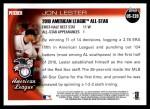 2010 Topps Update #220  Jon Lester  Back Thumbnail