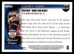 2010 Topps Update #291  Corey Hart  Back Thumbnail
