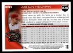 2010 Topps Update #294  Aaron Heilman  Back Thumbnail