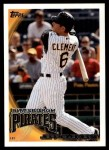 2010 Topps Update #301  Jeff Clement  Front Thumbnail