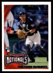 2010 Topps Update #168  Wilson Ramos  Front Thumbnail