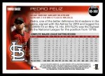 2010 Topps Update #302  Pedro Feliz  Back Thumbnail
