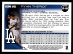 2010 Topps Update #193  Ryan Theriot  Back Thumbnail