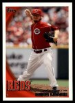 2010 Topps Update #317  Mike Leake  Front Thumbnail