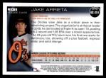 2010 Topps Update #251  Jake Arrieta  Back Thumbnail