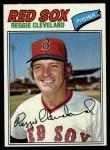 1977 Topps #613  Reggie Cleveland  Front Thumbnail