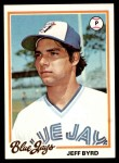 1978 Topps #667  Jeff Byrd  Front Thumbnail
