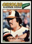 1977 Topps #646  Andres Mora  Front Thumbnail