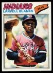1977 Topps #441  Larvell Blanks  Front Thumbnail