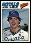 1977 Topps #602  Andy Hassler  Front Thumbnail