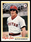 1978 Topps #155  Butch Hobson  Front Thumbnail