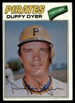 1977 Topps #318  Duffy Dyer  Front Thumbnail