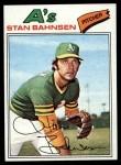 1977 Topps #383  Stan Bahnsen  Front Thumbnail
